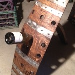 12 Bottle Floor Rack with Steel