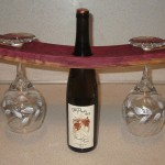 Bung Hole Wine Glass Holder