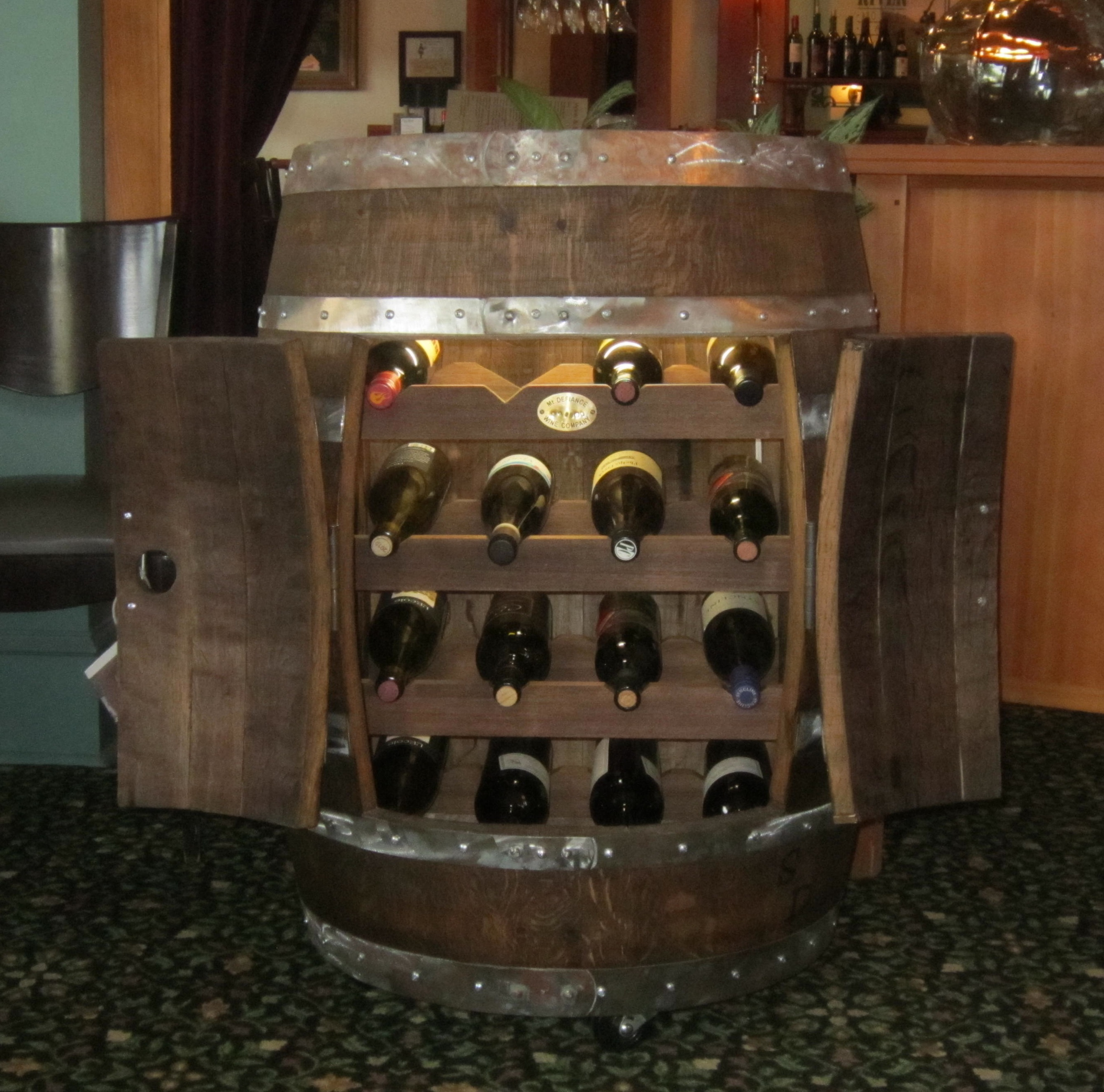 Full Barrel Wine Rackstave Designs