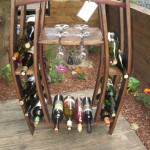 Split Wine & Glass Rack