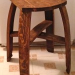 24 Inch Flat Top Bar Stool
