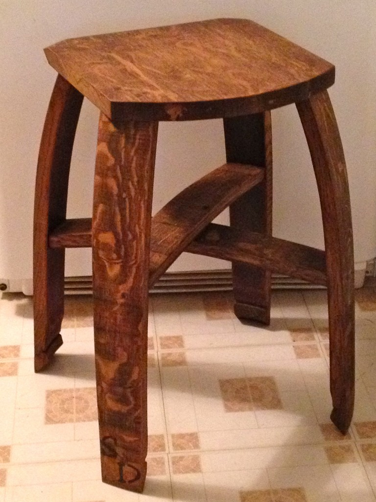 24 Inch Flat Top Bar Stool Stave Designsstave Designs