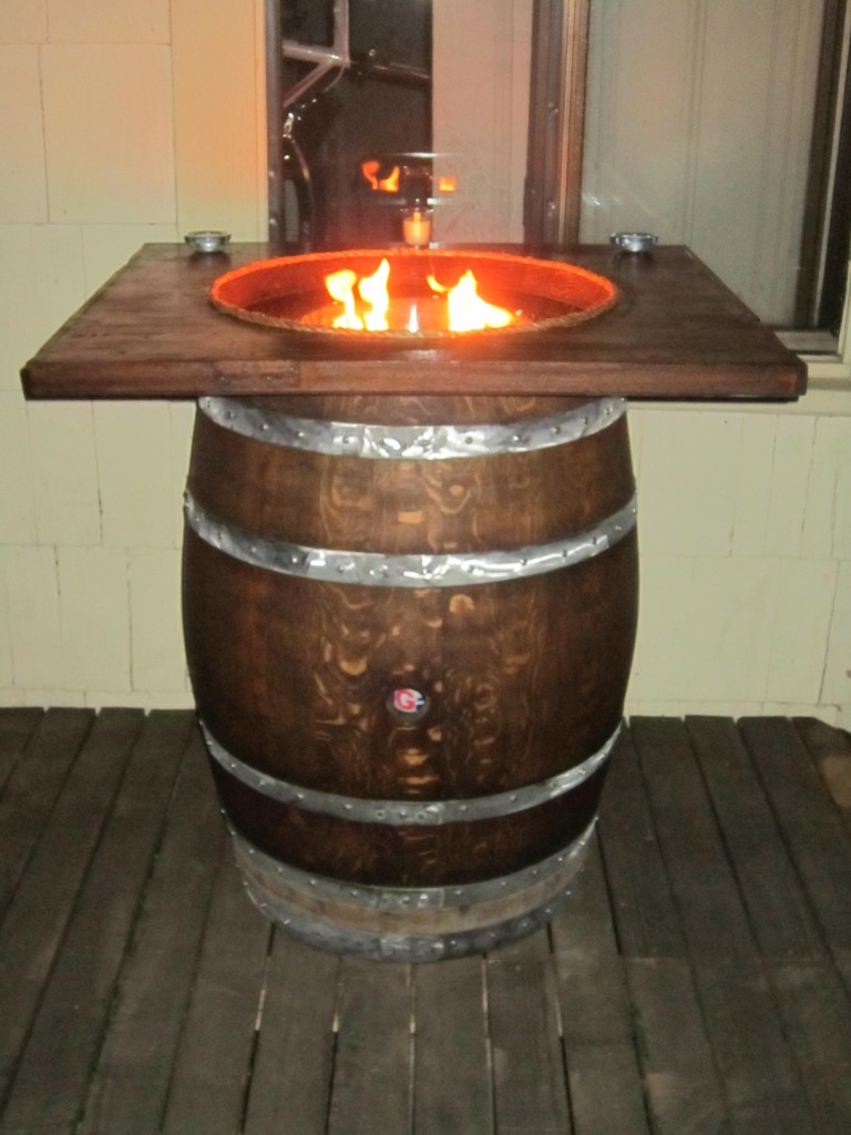 Full Size Wine Barrel Fire PitStave Designs