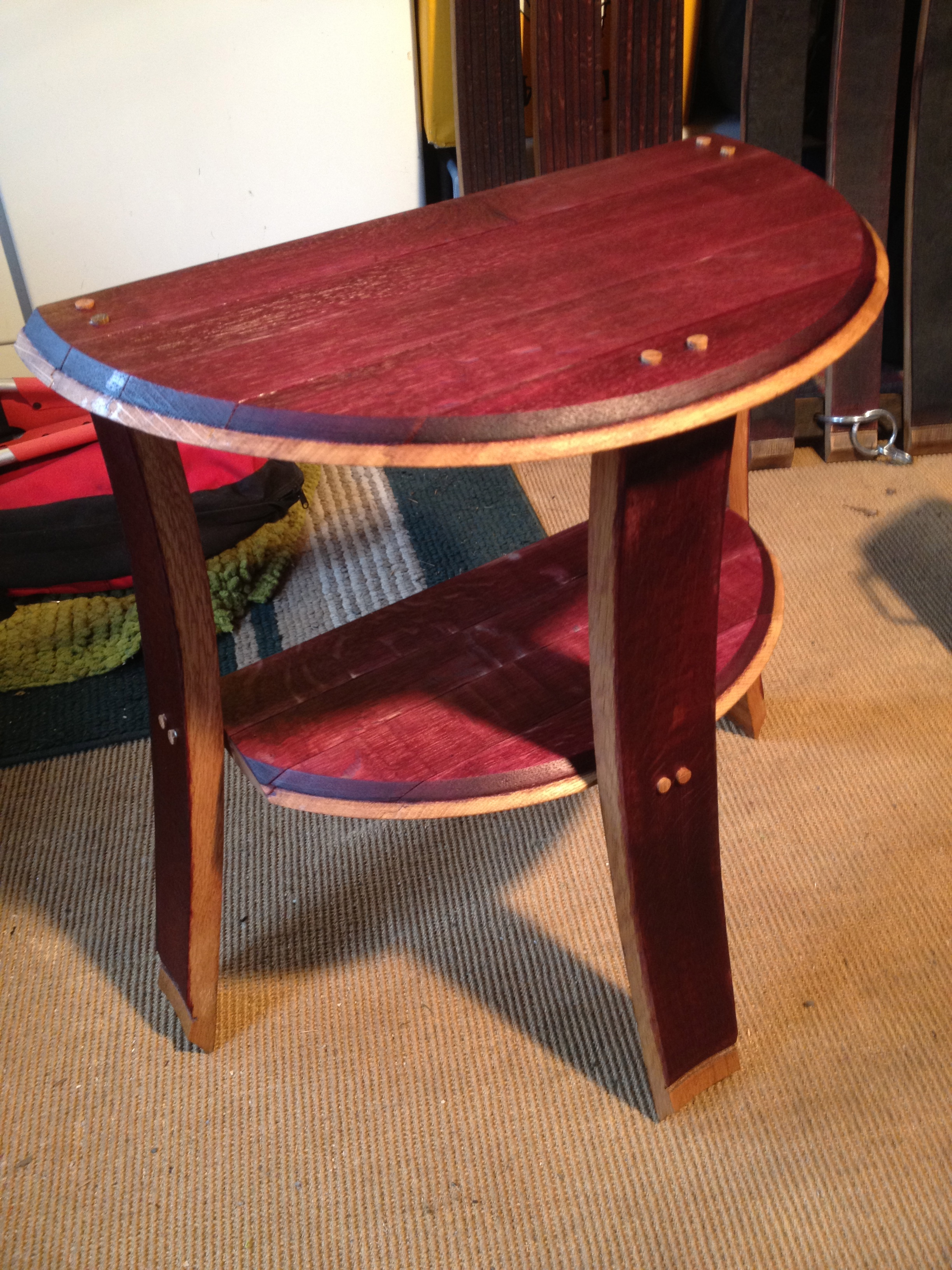 Half End Table Stave Designsstave Designs