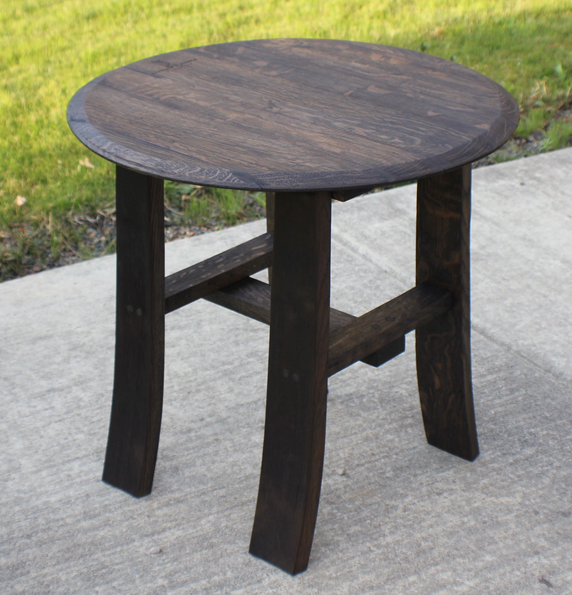 round end table stave designsstave designs