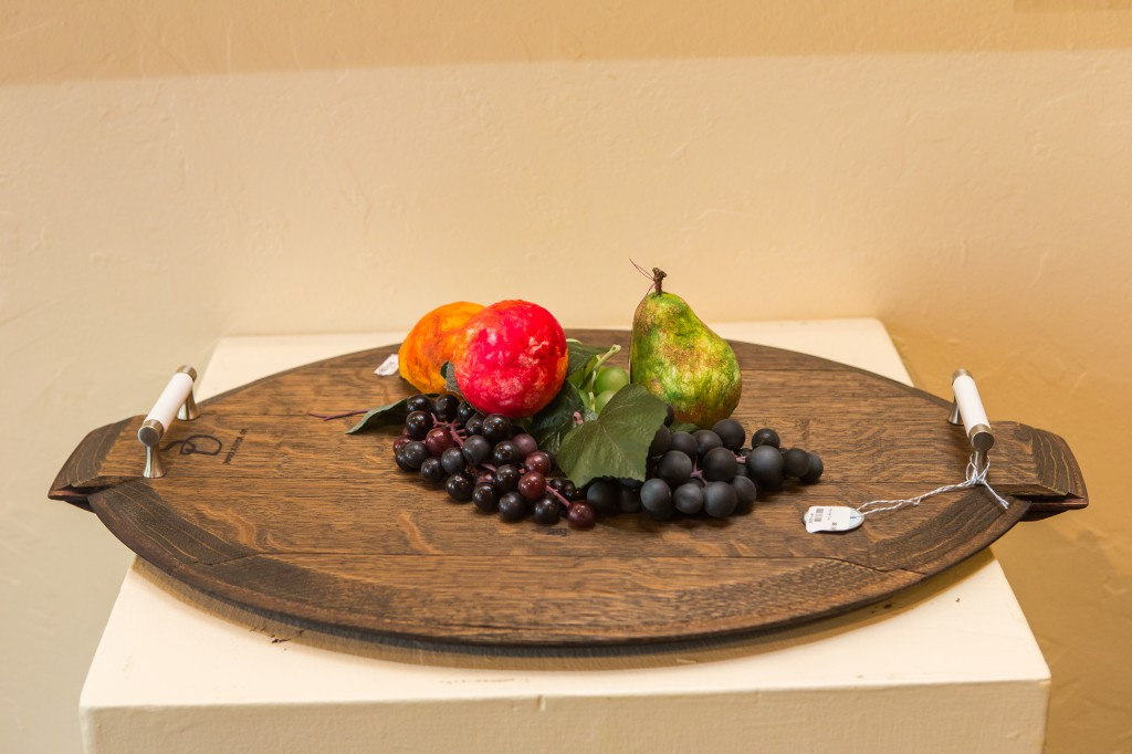 Wine Barrel Serving Tray Wine Barrel Lazy Susan